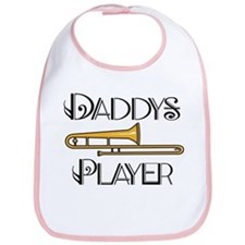 Daddy's Trombone Player Bib