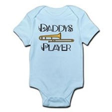 Daddy's Trombone Player Infant Bodysuit