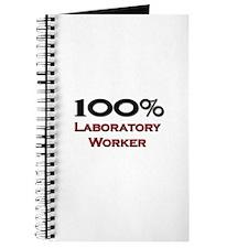 100 Percent Laboratory Worker Journal