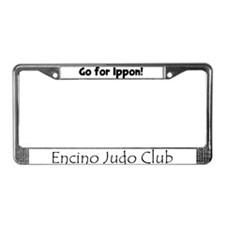Funny Ippon License Plate Frame