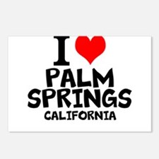 I Love Palm Springs, California Postcards (Package