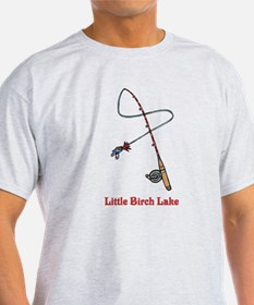287 Pole with Lure T-Shirt