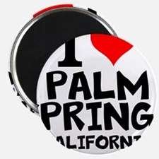 I Love Palm Springs, California Magnets