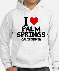 I Love Palm Springs, California Sweatshirt