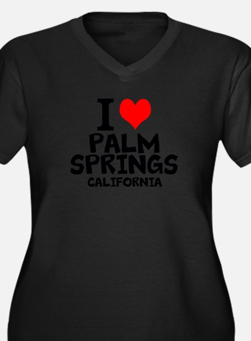 Palm springs ca women 39 s plus size clothing plus size shirts for T shirt city palm springs