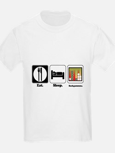 Eat. Sleep. Backgammon. T-Shirt
