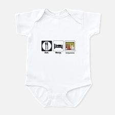 Eat. Sleep. Backgammon. Infant Bodysuit