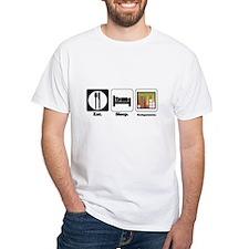 Eat. Sleep. Backgammon. Shirt
