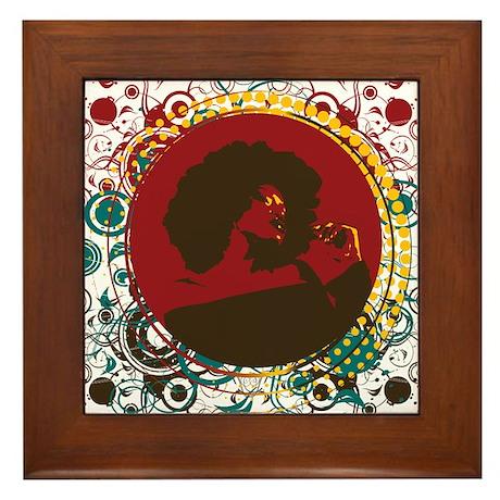 Dazzle Framed Tile