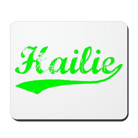 Vintage Hailie (Green) Mousepad