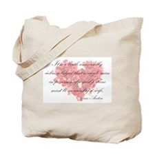 Cute Pride prejudice Tote Bag