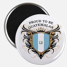 Proud to be Guatemalan Magnet