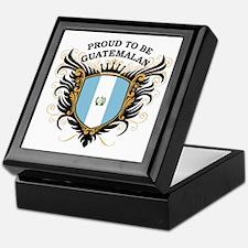 Proud to be Guatemalan Keepsake Box