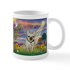 Cloud Angel & French Bulldog Mug
