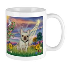 Cloud Angel & French Bulldog Mug
