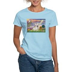 Cloud Angel & French Bulldog T-Shirt