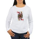 Queen of Hearts Women's Long Sleeve T-Shirt