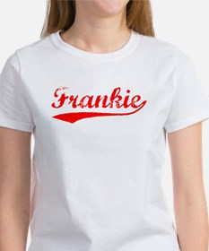 Vintage Frankie (Red) Women's T-Shirt