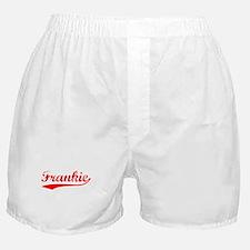 Vintage Frankie (Red) Boxer Shorts