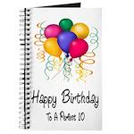 Happy Birthday Journal