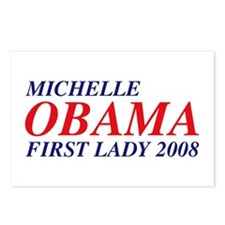 Michelle Obama First Lady 2008 Postcards (8)