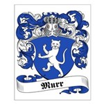 Murr Family Crest Small Poster