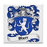 Murr Family Crest Tile Coaster