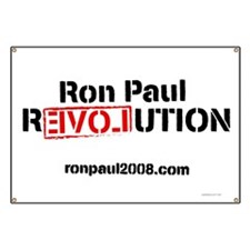 Ron Paul Revolution Premium Banner