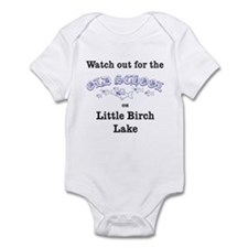 426 Old School Purple Infant Bodysuit
