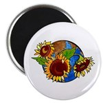 Sunflower Planet Magnet