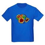 Sunflower Planet Kids Dark T-Shirt