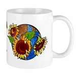Sunflower Planet Mug