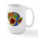Sunflower Planet Large Mug