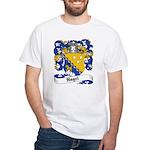 Nagel Family Crest White T-Shirt