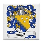 Nagel Family Crest Tile Coaster