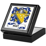 Nagel Family Crest Keepsake Box
