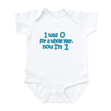 Baby Boy-First Birthday Infant Bodysuit
