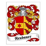 Neubauer Family Crest Small Poster