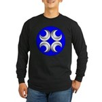 Caid Populace Long Sleeve Dark T-Shirt