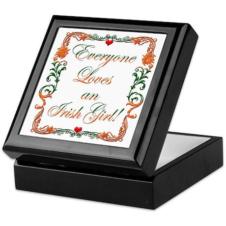 Loves Irish Girl Keepsake Box