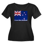 I Love New Zealand Women's Plus Size Scoop Neck Da