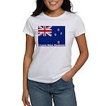 I Love New Zealand Women's T-Shirt