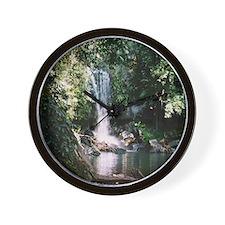 Waterfall, Mt Tambourine Wall Clock