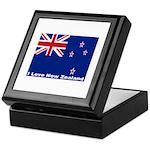 I Love New Zealand Keepsake Box
