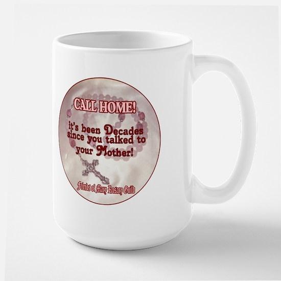 Roamin' Catholic Large Mug