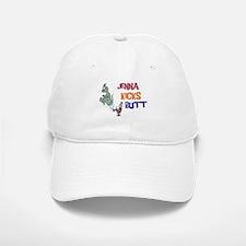 Jenna Kicks Butt Baseball Baseball Cap