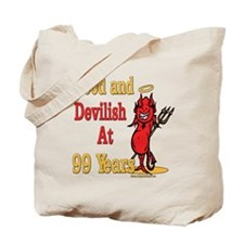 Devilish at 99 Tote Bag