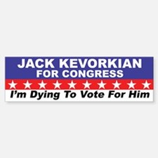 Kevorkian for Congress sticker
