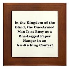 Kingdom Framed Tile