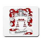 Neumayer Family Crest Mousepad